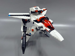 VF-1A Gerwalk 04 (maxvf1) Tags: max anime japan toys robot fighter lego transformer super scifi animation vehicle strike valkyrie mech macross robotech milia battroid gerwalk