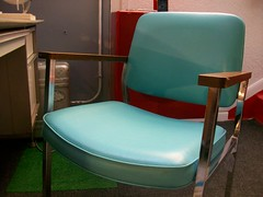Robin's Egg Blue Occasional Chair (Mod Livin') Tags: modern vintage design furniture retro 1950s danish 1960s 1970s eames georgenelson hermanmiller knoll saarinen midcentury danishmodern scandinaviandesign