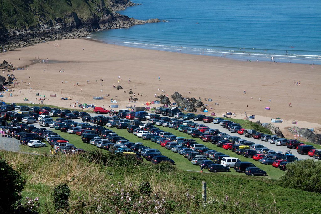 Packed in at Putsborough