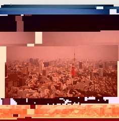tokyo_glitch4 (JonHiokiArt&Design) Tags: art japan tokyo photo jon jpeg glitch hioki