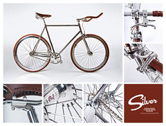 Silver (rpeschetz) Tags: urban bicycle silver cycling design track polish chrome singlespeed soma custom velo fahrrad blb schwalbe philwood paulcomponents diacompe coasterbrake gyes durano velosteel bricklanebikes hplusson eighthinch shotlever