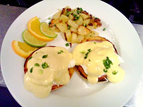 Eggs Benedict & Fried Potatoes