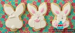 bunny cookies from bunny face cutter (KlickitatStreet) Tags: bunnies cookies easter