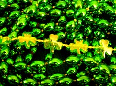 Shamrocks (mudder_bbc) Tags: wallpaper green beads clover shamrock stpatricksday march17