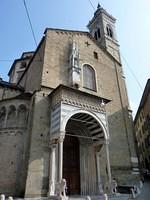 Porta meridionale della Basilica di Santa Maria Maggiore di Bergamo