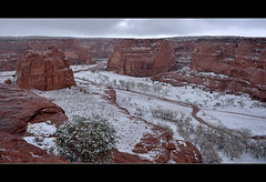 Snow on de Chelly (Russmosis) Tags: winter arizona snow nature landscape nikon nikkor canyondechelly d3s 2470mmf28g