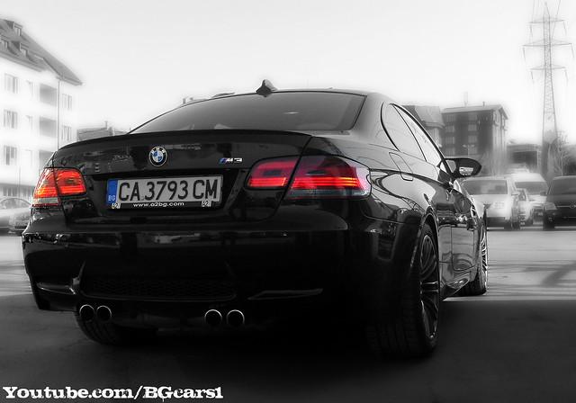 Black M3 E92