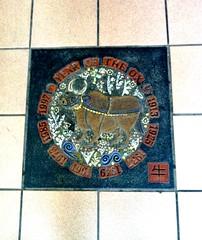Year Of The Ox  [from Chinese Zodiac] (ArtFan70) Tags: usa art animal boston america ma chinatown unitedstates mosaic massachusetts chinese newengland ox zodiac chinesezodiac rosenberg yearoftheox chinatradecenter lilliannrosenberg marvinrosenberg