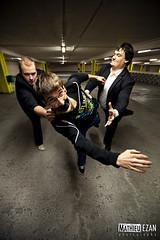 Ganbei (Mathieu EZAN) Tags: portrait france rock promo punk album parking band wideangle shooting press groupe 1635 ganbei grandangle kidnaping canon5dmarkii mathieuezan pandaspunkshow