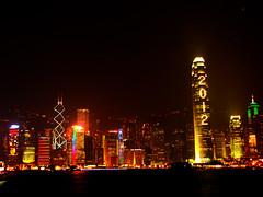 Hong Kong Bay - 2012 (leosoueu) Tags: reveillon china hongkong chinese newyear 2012 wanchai hongkongbay argonautas