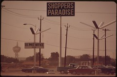 Las Vegas shopping center, May 1972