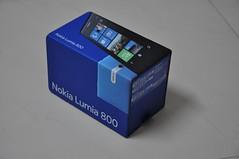 Nokia Lumia 800 box