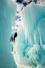 frozen wonderland (Sam Scholes) Tags: blue winter abstract ice beautiful digital utah nikon icicle cave midway icicles formations winterwonderland d800 icecastles midwayicecastles
