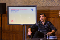 James Bridle Fireside Chat - FutureEverything 2014
