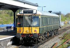 121034 (R~P~M) Tags: uk greatbritain england train diesel unitedkingdom buckinghamshire railway 121 bucks princesrisborough dmu chilternrailways dbarriva