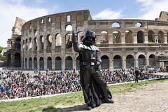 Star Wars Day Roma - Darth Vader (gongolo) Tags: roma cosplay darthvader colosseo starwarsday maythe4th starwarsdayroma
