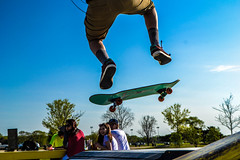 Skater 1 (alexiscooperphotography) Tags: portrait jump freestyle levitation filter skateboard skater creativephotography dramticlight nikond3100
