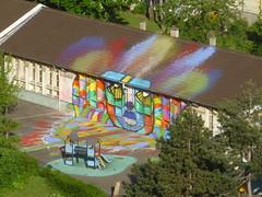 Da Cruz (mai 2016) (Archi & Philou) Tags: streetart cole paris13 paintedwall murpeint dacruz citdore