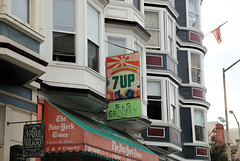 7 UP (Gwen Deanne) Tags: 7up sign sanfrancisco california building residences canon 6d topaz clarity