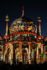 Dr Blighty's Pavilion (rosejones1uk) Tags: uk england festival wonderful sussex brighton bright pavilion colourful lightshow