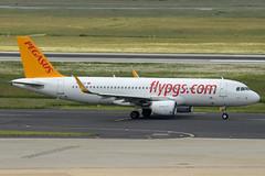 Pegasus Airlines Airbus A320-214(WL) TC-DCA Sharklets (EK056) Tags: airport pegasus airbus airlines dsseldorf sharklets a320214wl tcdca