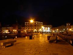 Rovinj by night (GillWilson) Tags: boats harbour croatia rovinj istria hoteladriatic