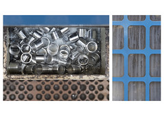 Blue (Callum Dickson Photography) Tags: wood texture metal work canon scotland factory documentary scottish material 24 machines bagpipes process doc 70 bagpipe manufacture canonphotography