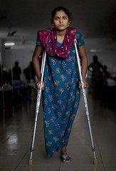 13814685033 (cb_777a) Tags: disabled crutches bangladesh handicapped amputee onelegged buildingcollapse