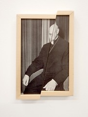 (Eli Craven) Tags: portrait sculpture art collage cut frame split elicraven
