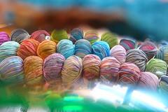 Knitting lovE (sifis) Tags: color colour love wool lumix store knitting natural style athens yarn greece cotton handknitting lx7 sakalak νήματα μαλλιά πλέξιμο πλέκω βελόνεσ σακαλάκ sakalakwool