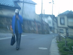 blue tall man (-ICHIRO) Tags: street camera toy snap agfa sensor 505d