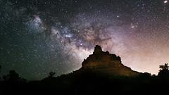 Bell_Rock (John Haggart) Tags: sky night stars sedona astrophotography milkyway astrometrydotnet:status=failed astrometrydotnet:id=nova1602389