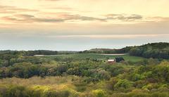 Mt Jeez View (debbie_dicarlo) Tags: ohio farmhouse sunrise overlook rollinghills mtjeez mtjeezoverlook subtlesunrise