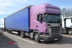 Scania R420 'Translandija' reg JCS 850 (erfmike51) Tags: lorry artic curtainside scaniar420 translandija