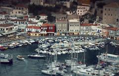 Ydra (klepher) Tags: island greek calm p tilt effect hydra peacefull ydra tilitshift