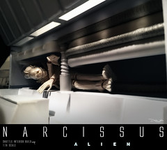 NARCISSUS43 (sith_fire30) Tags: sculpture building art scott miniature big model allen action alien aves ripley shuttle figure beast custom dayton diorama giger narcissus chap hrgiger prometheus sculpt styrene ridley xenomorph nostromo fixit sithfire30 covneant