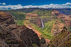 Waipoo Falls, Waimea Canyon, Kauai (Fort Photo) Tags: travel nature landscape island hawaii waterfall nikon scenic canyon falls kauai tropical waimea hi tropics waimeacanyon d500 kauaicounty waipoofalls menefee nikond500 kokeestream kauai michaelmenefee
