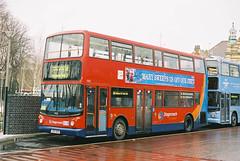 EastLondon-17821-LX03BXS-Walthamstow-040305a (Michael Wadman) Tags: walthamstow eastlondon route58 lx03bxs transbustrident