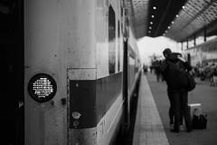 (Mikko Luntiala) Tags: blackandwhite bw woman man june train suomi finland leaving helsinki hugging hug sad bokeh trains depthoffield railwaystation journey trainstation goodbye mies juna matka 2016 d600 rautatieasema keskuu junaasema nainen halaus junat lht helsinginrautatieasema surullinen nikond600 hyvstit helsinkicentralrailwaystation hyvsti afsnikkor2470mmf28ged syvtervyys helsinginprautatieasema mikkoluntiala halaaminen