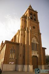 Frontal Iglesia Astorga (edmoberti) Tags: church fuente iglesia paisaje chruch castillo pilgrim caminodesantiago peregrino astorga albergue rabanaldelcamino hospitaldeorbigo pregrino