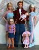 Family (Emily-Noiret) Tags: family friends love vintage stacie dolls ken barbie skipper kelly krissy mattel