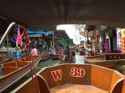 Dumnoen Saduak Floating Market,Thailand