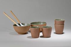 Tea-Bowl-green-brown-07 (cdkceramic) Tags: brown green ceramic teabowl    cdkceramic