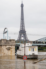 MISSISSIPPI (Not-the-average-Joe) Tags: paris france mississippi eiffeltower floods overflow crue riverseine euro2016
