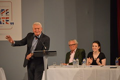 Paddy Ashdown (JH Stokes) Tags: suttoncoldfield westmidlands birmingham europeanunion brexit remain debate event politics politicians andrewmitchell nigelfarage giselastuart paddyashdown michaelheseltine photography coverage birminghameastside