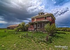 Weather Warriors (Pat Kavanagh) Tags: canada abandoned western homestead saskatchewan prairies hdr highdynamicrange decayed