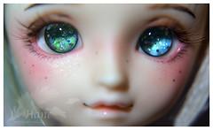 Ocean eyes :D (Besia-natka) Tags: doll handmade momiji bjd dollfie volks momi handcraft mamu enso yosd urethane ensoeyes