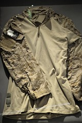 Uniform worn by one of the Navy Seal team who killed Osama bin Laden (Robinho67) Tags: nyc usa museum memorial downtown manhattan 911 twintowers wtc september11 worldtradecentre