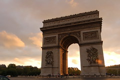 Arc de Triomphe (FotoGraf-Zahl) Tags: paris france frankreich triumphalarch sight arcdetriomphe triumphbogen wahrzeichen sehenswrdigkeit