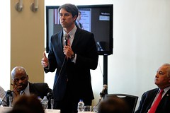 Beto O'Rourke speaks to attendees at the forum (Beto O'Rourke for U.S. Congress) Tags: congress reyes cba elpasotexas congressionalelection silvestrereyes betoorourke robertorourke betoelpaso betotexas16thdistrict betoforcongress texas16thdistrict elpasopolitics orourkeelpaso elpasopolitician elpasocba